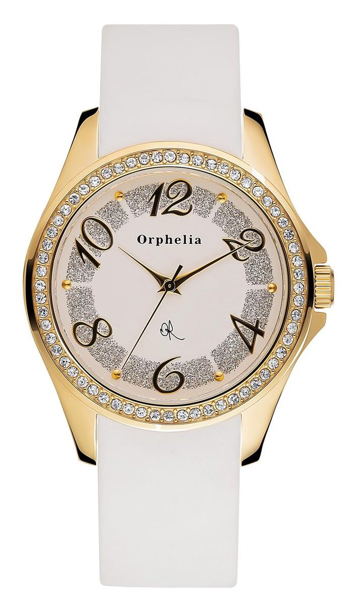 Orphelia 122-1707-11 - Horloge - Rubber band - Roestvrij staal