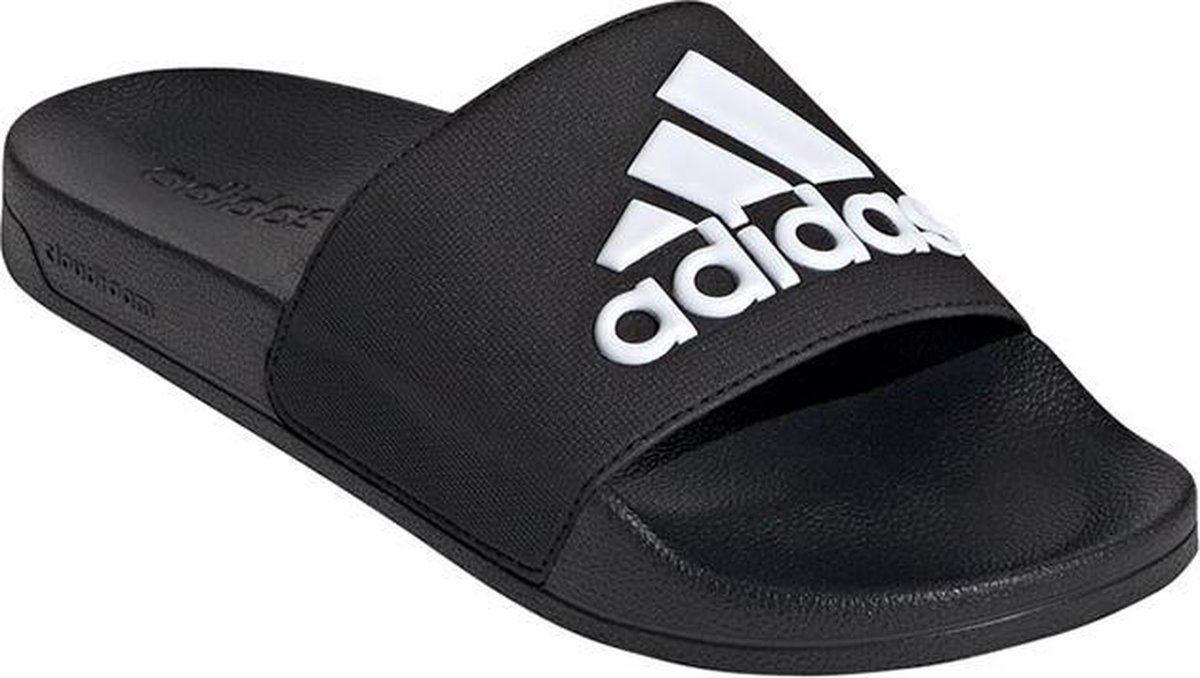 addas Adilette Shower Slippers Volwassenen - Core Black / Ftwr White / Core Black - Maat 43