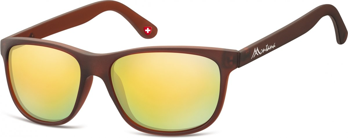 Montana By Sgb Zonnebril Unisex Bruin (ms48)